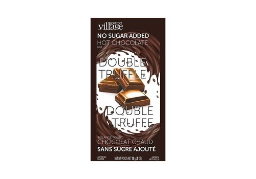 Gourmet Du Village Mini Hot Chocolate Double Truffle No Sugar