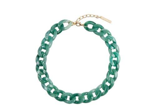Club Manhattan Tortoise Chain Necklace