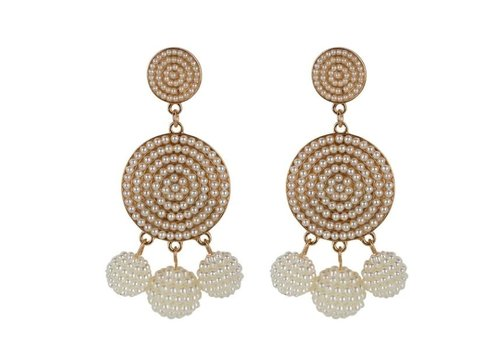 Club Manhattan Carnival Earrings Gold