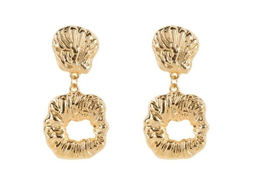 Club Manhattan Eve Earrings Gold