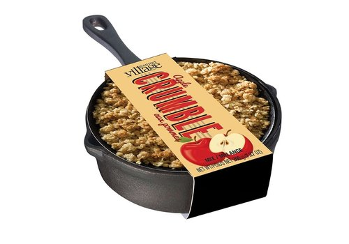 Gourmet Du Village Cast Iron Skillet Apple Crumble Mix