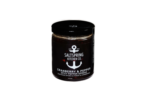 Salt Spring Kitchen Cranberry & Pepper Spicy Spread 270ml