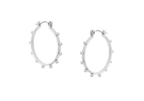 Merx Sofistica Earring Shiny Rhodium
