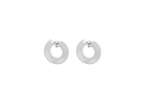 Merx Sofistica Earring Shiny Silver Plating