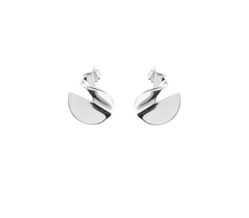Earring Rhodium