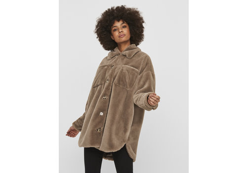 Vero Moda Donna Shirt 3/4 Faux Fur Jacket