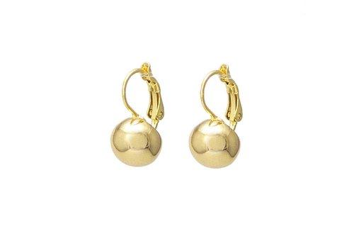 Merx Sofistica French Hook Ball Earring Gold