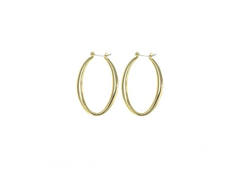 Merx Sofistica Gold Clip Post Earring