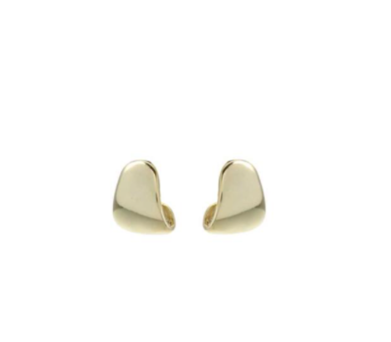Earring Shiny Gold