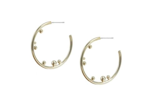 Merx Sofistica Earring Gold Shiny