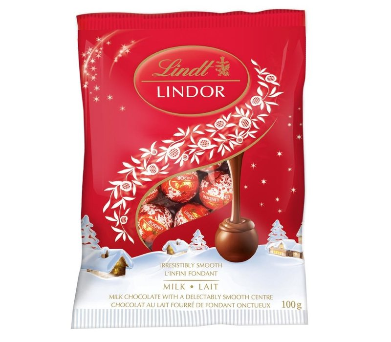 Lindt Lindor Mini Balls Milk Chocolate 100g