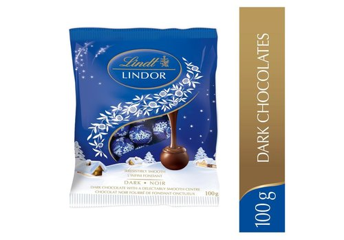 Lindt Lindor Mini Balls Dark Chocolate 100g