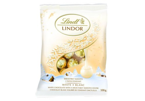 Lindt Lindor Mini Balls White Chocolate 100g