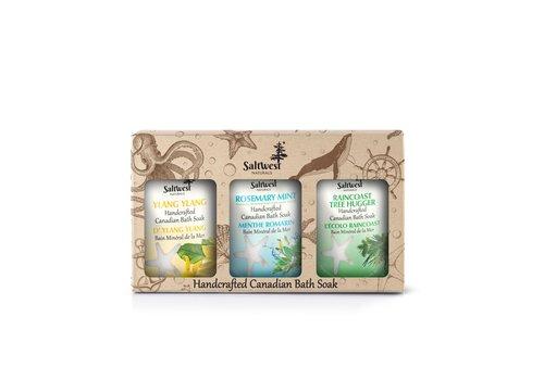 Saltwest Naturals Earth and Sea Bath Gift Box