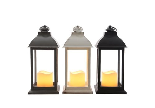 Kaemingk LED Lantern Indoor Flame