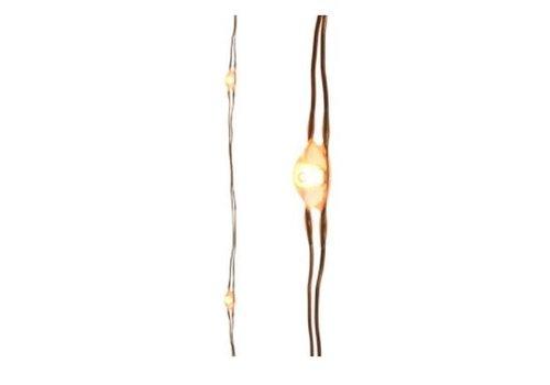 "Kaemingk Micro LED Copper String Warm White 116""-60L"