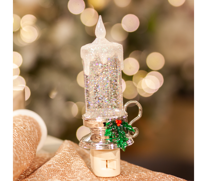 Shimmer Candle Night Light