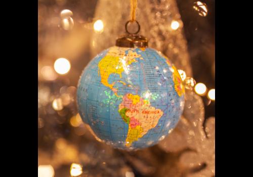 Glenhaven Home & Holiday Globe Ornament