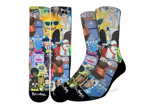 Good Luck Sock Men's Rick and Morty Characters Socks