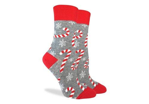 Good Luck Sock Women's Candy Canes Socks