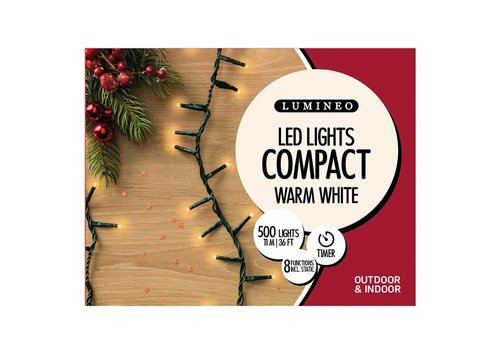 LED Twinkle Compact Lights Warm White