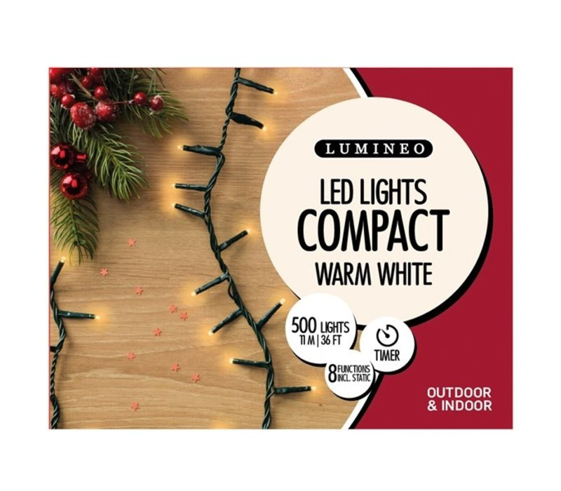 LED Twinkle Compact Lights Warm White