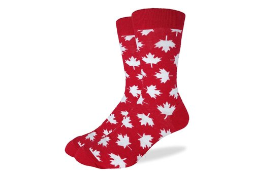 Good Luck Sock Men's Canada Maple Leaf Socks