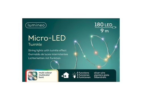 Micro LED String Lights Multicolor 29ft-180L