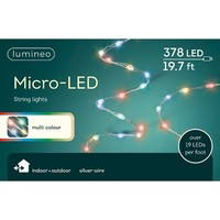 Micro LED String Light Extra Dense Multicolor 19ft-378L