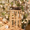Glenhaven Home & Holiday Lantern Brown