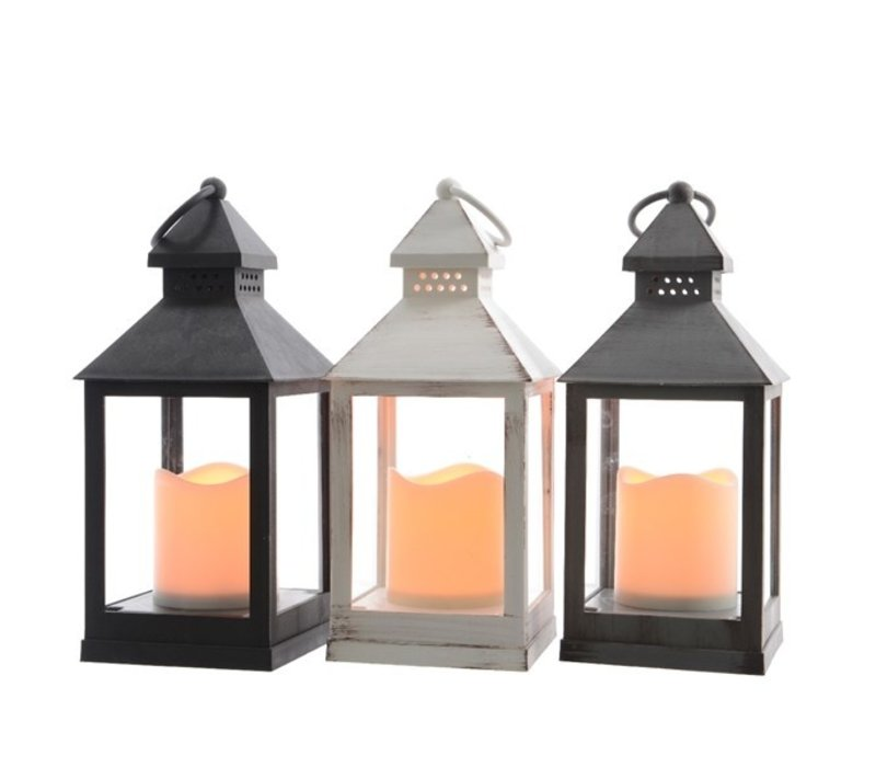 LED Lantern Indoor Flame