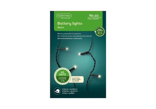 Kaemingk LED Durawise Basic Black String Light Warm White 710cm-96L