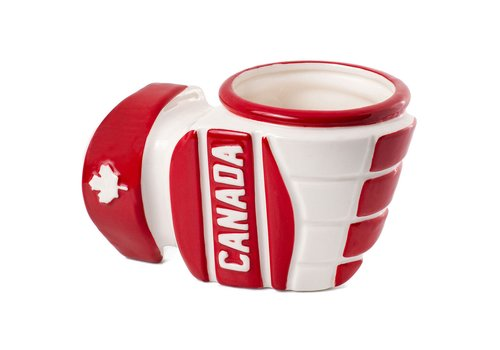 Main and Local Hockey Glove Mug