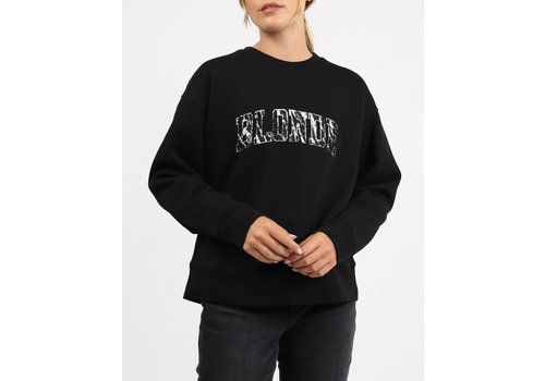 Brunette The Label Blonde Zebra Step Sister Crew Neck