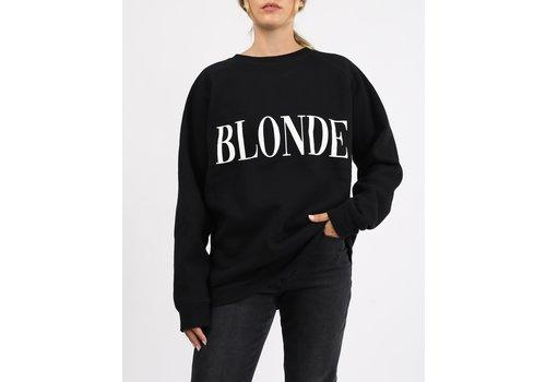 Brunette The Label Blonde Big Sister Crew Neck