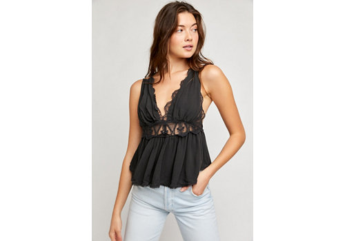 Free People Odessa Lace Tank
