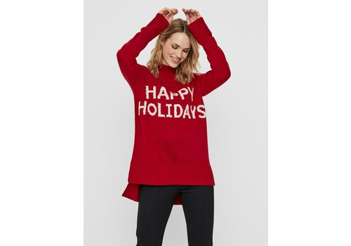 Vero Moda Holidays Long High Neck Blouse