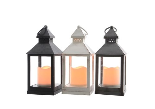 LED Lantern Indoor Flame