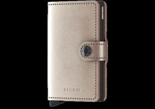 SECRID Mini Wallet Metallic