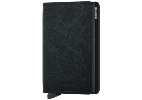 SECRID Slim Wallet Paisley Black