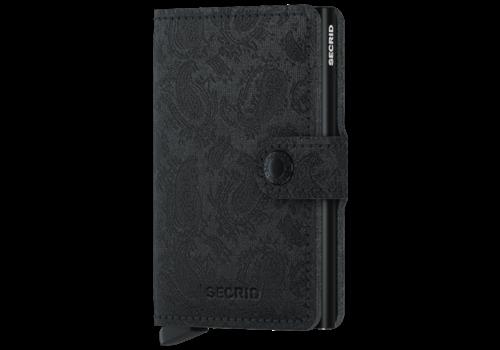 SECRID Mini Wallet Paisley Black