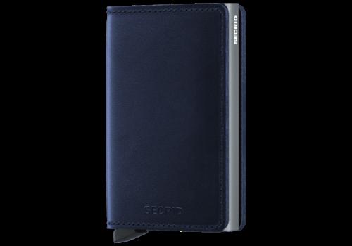 SECRID Slim Wallet Polished Navy