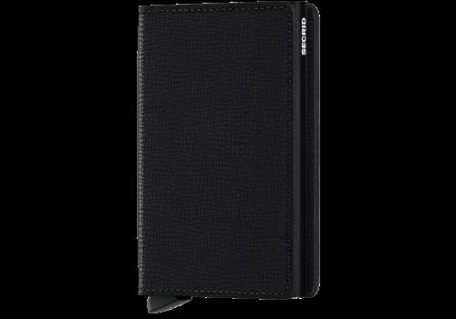 SECRID Slim Wallet Crisple Black