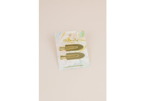 Philocaly Kylie Duck Bill Clips Gold