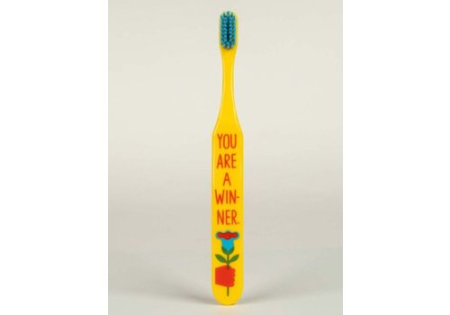Blue Q You're A Winner Toothbrush
