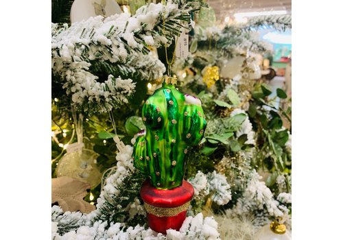 Glenhaven Home & Holiday Cactus Ornament