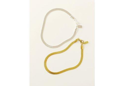 Park & Buzz Herringbone Bracelet