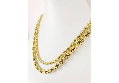 Park & Buzz Rope Twist Necklace