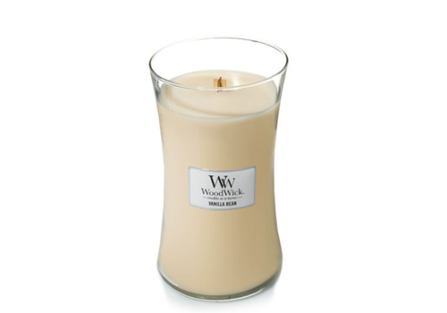 Woodwick Vanilla Bean Hourglass Candle