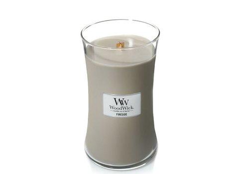 Woodwick Fireside Hourglass Candle